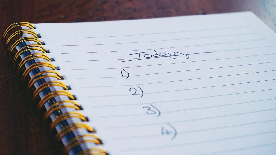 planifier année 2019 liste to do objectifs étapes petits pas