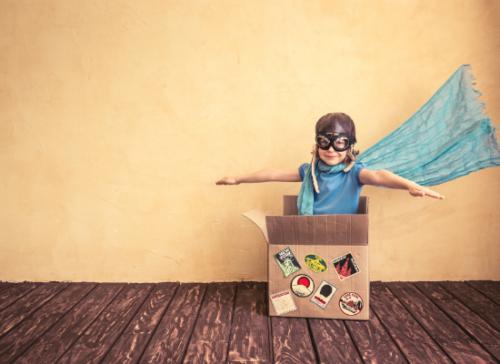 Page blanche panne d'inspiration aide conseils coach créativité kiffer ennui enfant culture s'amuser imaginer