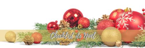 checklist Noel