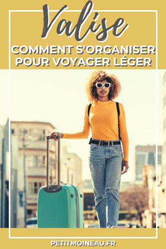 organiser sa valise voyager léger (2)