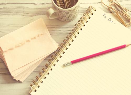 tâches tâche liste à imprimer bullet journal idée idées