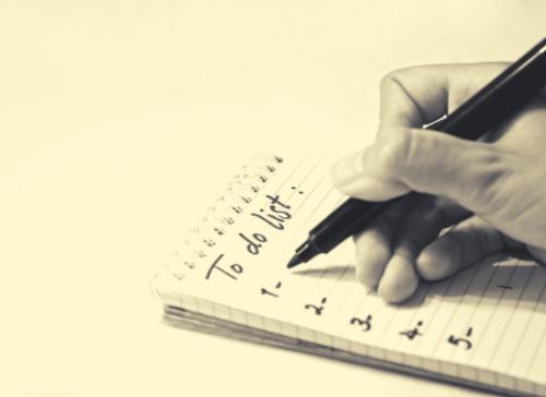 to-do list tâches à accomplir liste à imprimer bullet journal idée idées