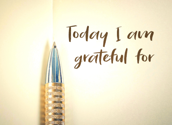 gratitude voir le positif cultiver avoir de la reconnaissance écrire quotidiennement