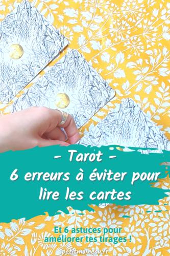 erreur tirer les cartes pour soi-même astuces facile tarot oracle (1)