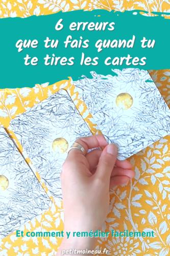 erreur tirer les cartes pour soi-même astuces facile tarot oracle (3)
