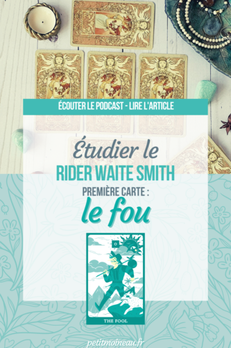 étudier rider waite smith fou