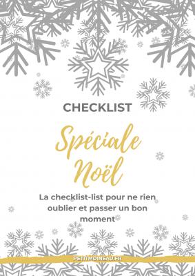 Checklist Noël