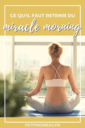 Miracle Morning savers 5h30 du matin pourquoi à retenir garder (3)